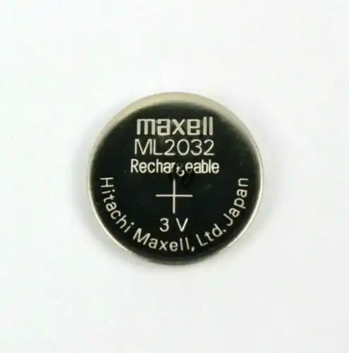 CB33 NEW MAXELL ML2032 RECHARGEABLE 2032 3V CMOS BACKUP BATTERY