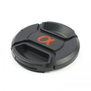 Lens Cap Dust Safety Snap-On Front Cover