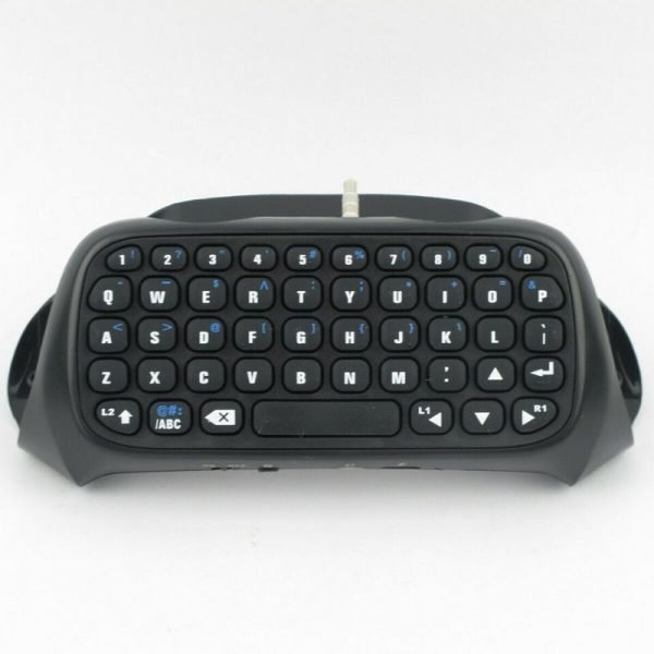 Bluetooth Wireless Keyboard For Sony PS4 PlayStation 4 Accessory Controller