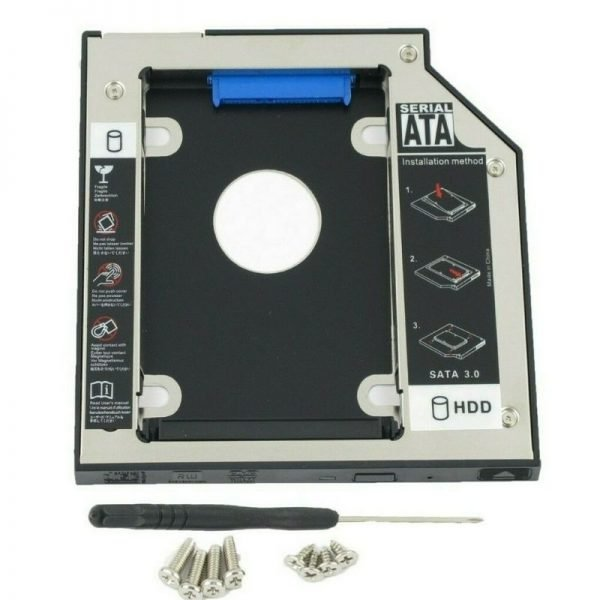 SATA 2nd HDD SSD Hard Drive Caddy