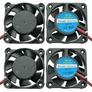 Cooling Case Fan 2-Pin 4pcs