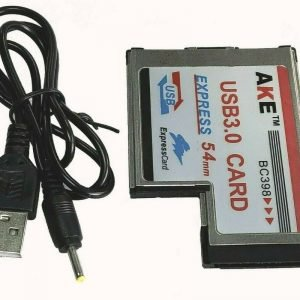 54mm ExpressCard to 2 Port USB 3.0