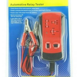 12V Electronic Automotive Relay Tester
