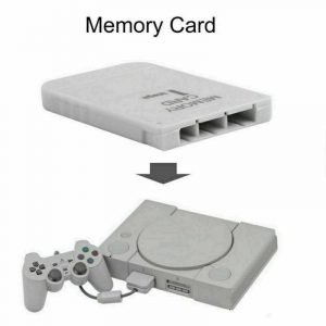 New White 1MB Memory Card